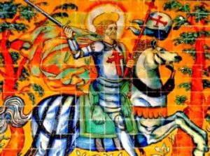 Caballeros de la Orden de Santiago en el territorio de Tentudía Image